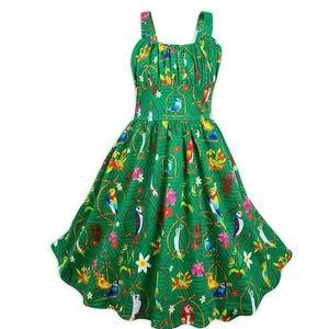 New Disney's Dress Shop Tiki Room Youth Dress